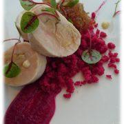 鶏胸肉とフォアグラのバロンティーヌ